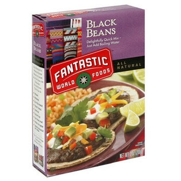Fantastic Foods Instant Black Beans 7.0 oz (12 pack)