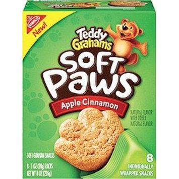 Nabisco Teddy Grahams Soft Cookie Paws Apple Cinnamon