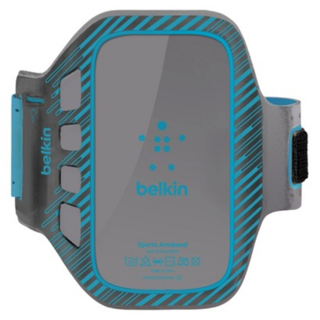 Belkin Easefit Plus Armband for Samsung Galaxy SIII - Gray/Blue