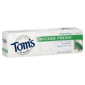 Toms Of Maine Wicked Fresh Toothpaste Spearmint Ice 4.70 Ounces