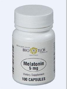 Melatonin 5 mg 100 caps by Bio-Tech