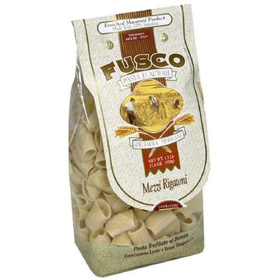 Fusco Mezze Rigatoni, 17.6-Ounces (Pack of 6)