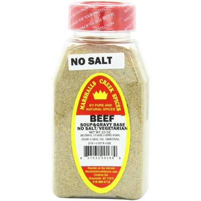 Marshalls Creek Spices Beef Soup Base, No Salt, 10 Ounce