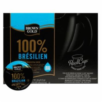 Brown Gold Coffee Capsules, 100% Brazilian, 48 ea