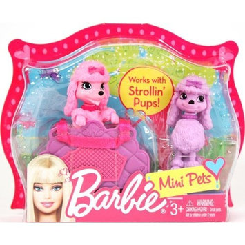 Barbie Mini Pets Pink & Purple Poodles