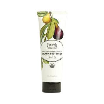 Nourish Organic Body Lotion, Fresh Fig, 8 fl oz
