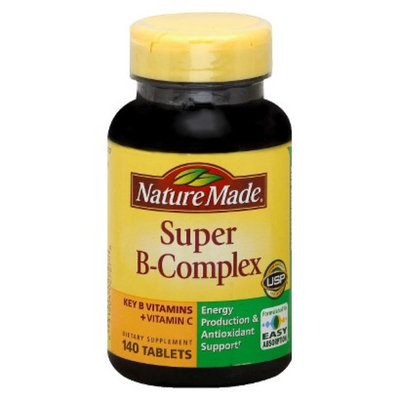 Nature Made Super B-Complex with Vitamin C & Folic Acid Tablets - 140