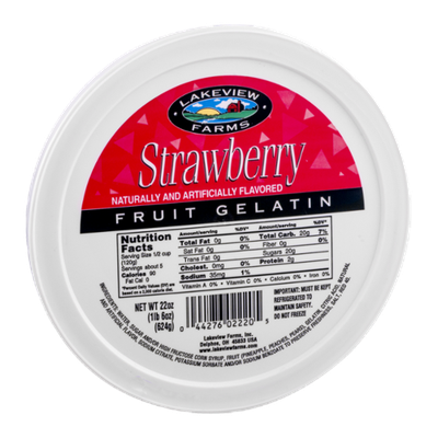 Lakeview Farms Strawberry Fruit Gelatin