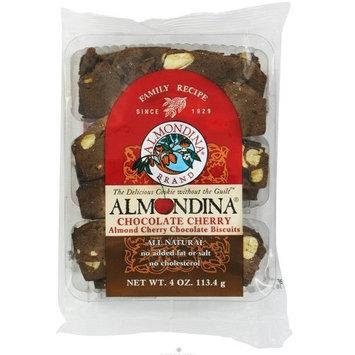 Almondina - Chocolate Cherry Almond Cherry Chocolate Biscuits - 4 oz.