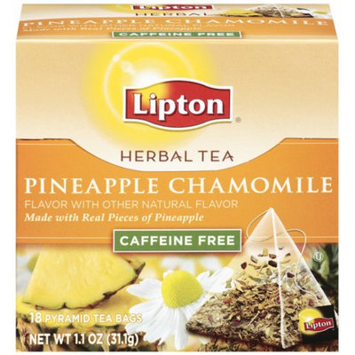 Lipton Herbal Pyramid Pineapple Chamomile Tea Bags