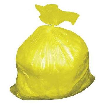 NORTH AMERICAN PLASTICS YL3663 Trash Bags,55 gal,5.5 mil, PK50