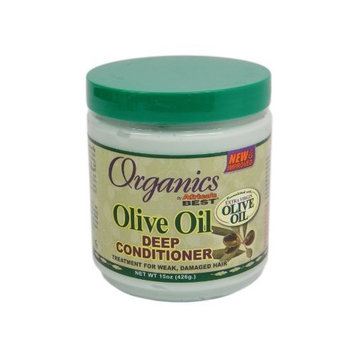 Africa's Best Africas Best Org Olive Oil X- Virgin Cond. Deep 15oz Jar
