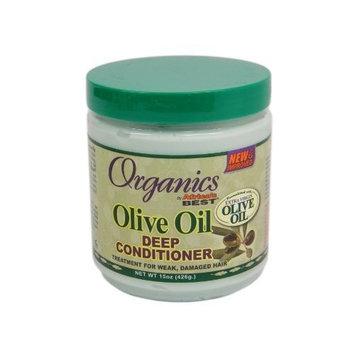 Africa's Best Africas Best Org Olive Oil X- Virgin Cond. Deep 15oz Jar