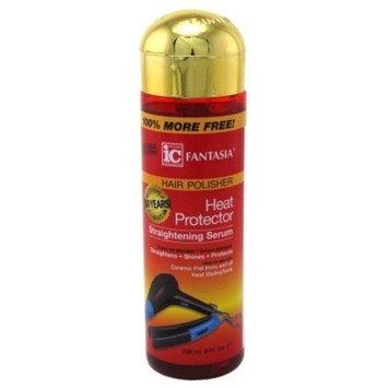 Fantasia Serum 8oz Bonus Heat Protector Straightening (6 Pack)