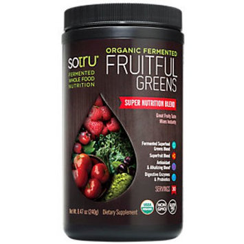 SoTru - Organic Fermented Fruitful Greens - 8.47 oz.