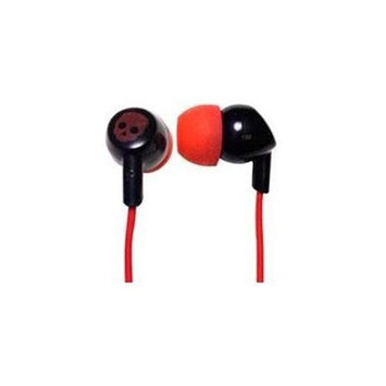 Xtreme Cables Red/Black Earbuds with Mic