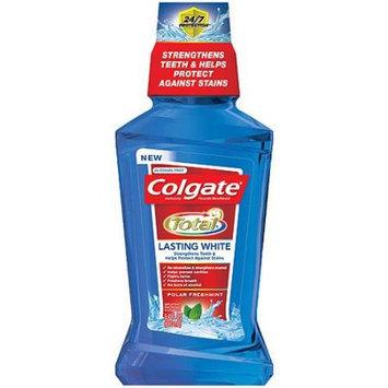Colgate Total Lasting White Polar Freshmint Anticavity Fluoride Mouthwash