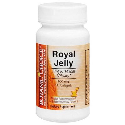 Botanic Choice Royal Jelly 100 mg Dietary Supplement Softgels