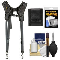 BlackRapid RS DR-1 Sling Double Camera Strap with Cleaning & Accessory Kit