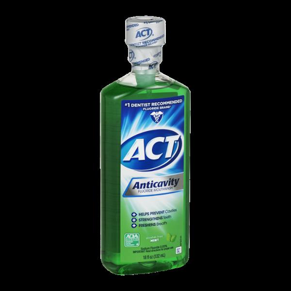 Act Anticavity Mouthwash Mint
