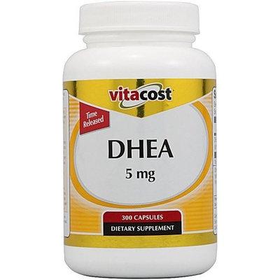 Vitacost Brand Vitacost DHEA -- 5 mg - 300 Capsules