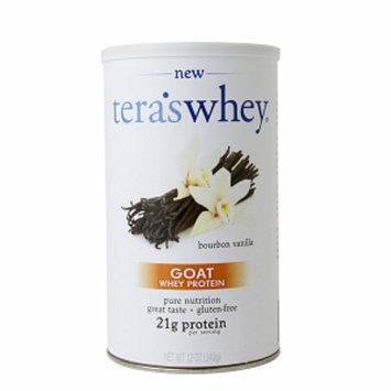 Teras Whey tera's whey Goat Whey Protein 21g, Bourbon Vanilla, 12 oz
