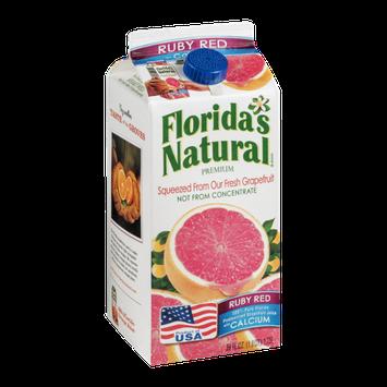 Florida's Natural Premium Red Ruby Grapefruit Juice with Calcium