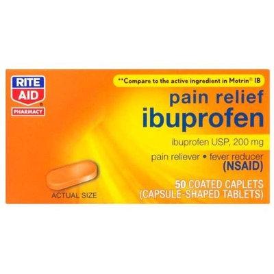 Rite Aid Brand Rite Aid Ibuprofen, Orange Flavor 50 Caps
