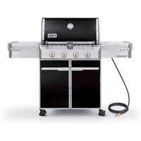 Weber Summit E-420 Natural Gas Grill, Black