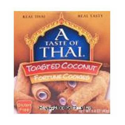 A Taste of Thai Toasted Coconut Fortune Cookies 1.4 oz