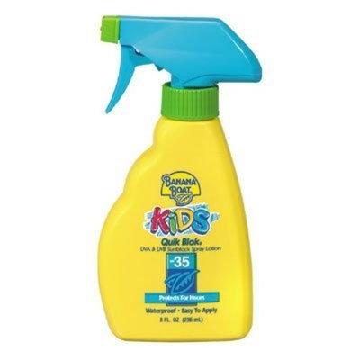 Banana Boat Kids Quick Blok Sunblock Spray With SPF 35
