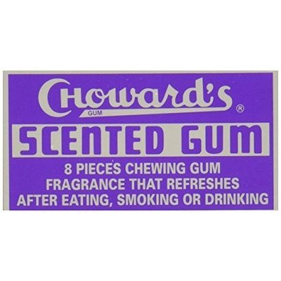 C Howard C. Howard Scented Gum, 1.5-Ounce Boxes (Pack of 24)