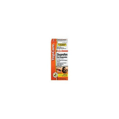 Top Care Infant Ibuprofen Oral Suspension (Case of 3)