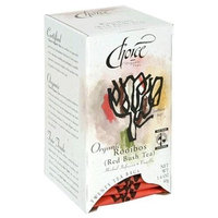 Organic Tea, Rooibos (Red Bush) with Vanilla 20 bags by Choice Organic Teas