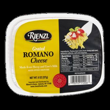Rienzi Grated Cheese Romano