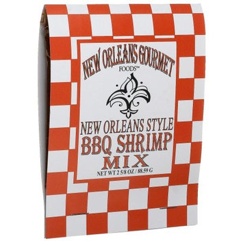 New Orleans Gourmet Foods Orleans Gourmet Foods New Orleans Style BBQ Shrimp Mix, 2 5/8 oz Package, ( Pack of 6 )