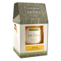 Aroma Naturals The Natural HBC Group, LLC - Relaxing 3x3.5 Pillar Candle, 1 solid