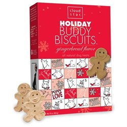 Cloud Star Holiday Buddy Biscuits Oven Baked 16 oz Box