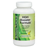Botanic Choice HGH Booster Formula Dietary Supplement Tablets