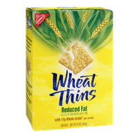 Nabisco Wheat Thins Reduced Fat Snacks
