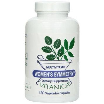 Vitanica, Women's Symmetry Multivitamin, 180 Vegetarian Capsules