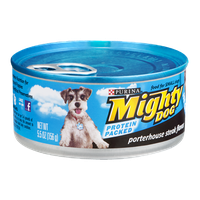 Purina Mighty Dog Porterhouse Steak Flavor Dog Food