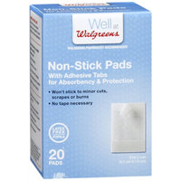 Walgreens Non-Stick Pads with Adhesive Tabs, 20 ea