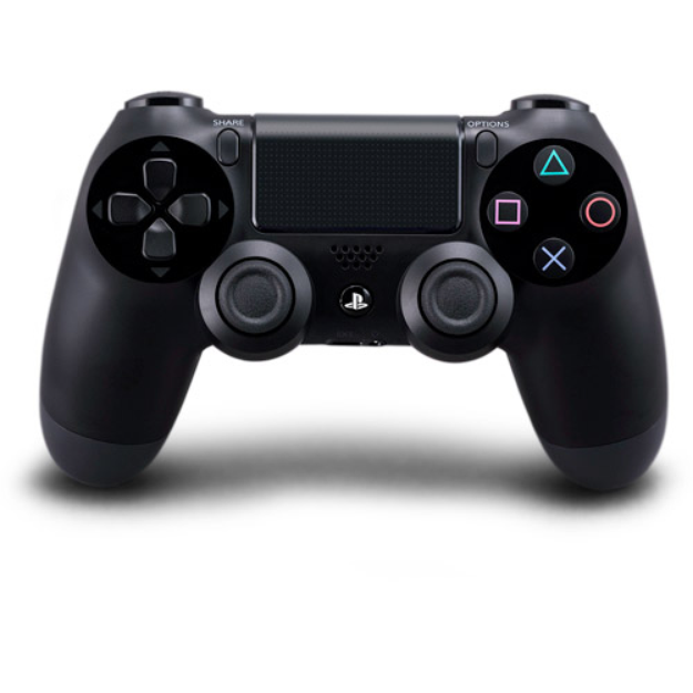 Sony DualShock 4 Wireless Controller - Black (PlayStation 4)