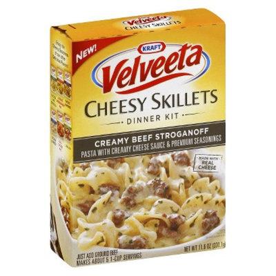 Kraft Velveeta Cheesy Skillets Creamy Beef Stroganoff 11.6 oz