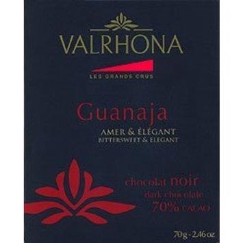 Valhrona Valrhona - Le Grands Crus -70% Dark Chocolate - Guanaja Bar - Amber & Elegant - 2.46 ozs