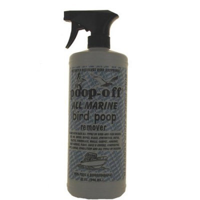 Lifes Great Products Poop Off 22700185 Poop Off All Marine Bird Poop Remover with Trigger Spray 32oz