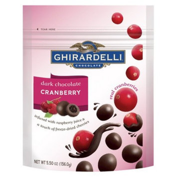 Ghirardelli Chocolates Dark Chocolate Cranberry