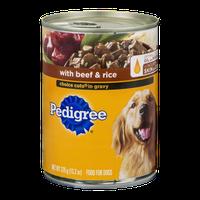 Pedigree® Beef & Rice Choice Cuts in Gravy Dog Food