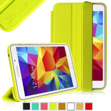 Fintie Ultra Slim Lightweight All-around Protection Omni Case Cover for Samsung Galaxy Tab 4 7.0 Tablet, Yellow